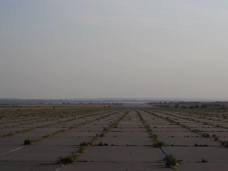 Аэродром Багерово в Крыму