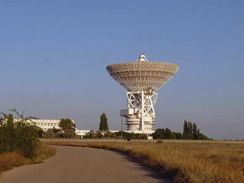 Радиотелескоп в Школьном