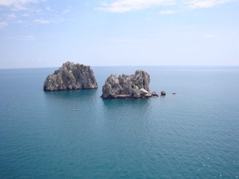 Курталиотское ущелье Ливийское море Спили  Крит