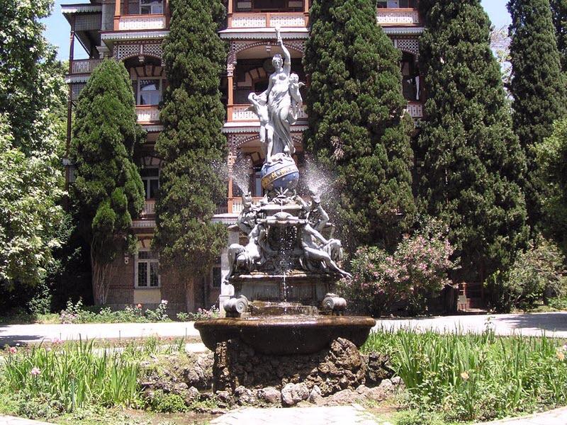 частных фонтаны в гурзуфском парке лучшие