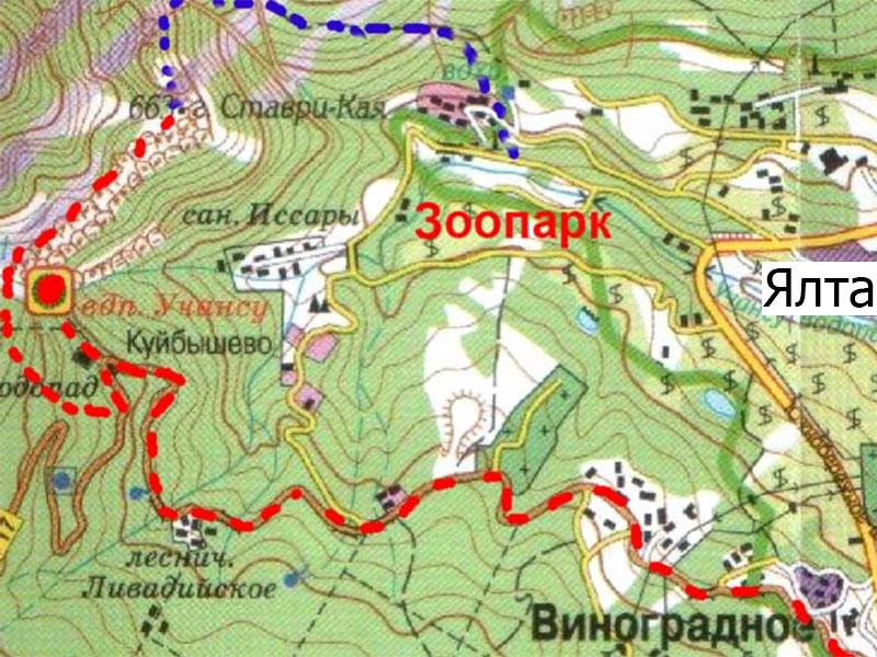 Боткинская Тропа На Карте