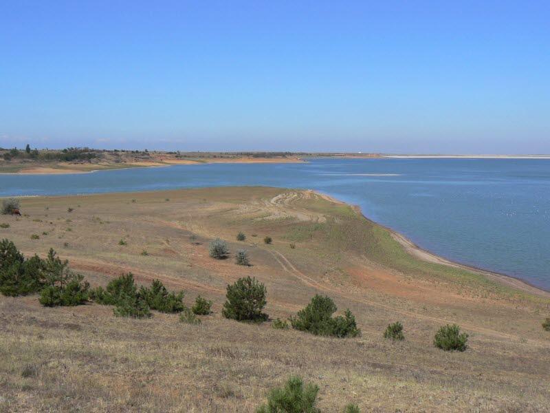 Межгорное водохранилище, Сакский район, Республика