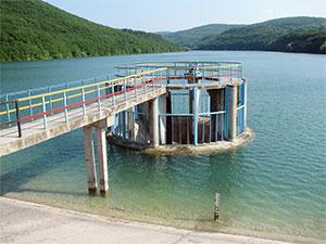 Межгорное водохранилище - Водоемы Крыма - ставки